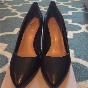 Franco Sarto Black wedge shoes